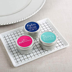 Personalized Travel Candle Tin - Custom Logo