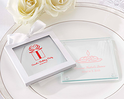 Personalized Glass Coaster - Birthday (Set of 12)