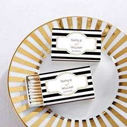 Personalized White Matchboxes - Classic (Set of 50)
