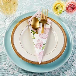Tea Time Whimsy Paper Napkins - Pink (Set of 30)