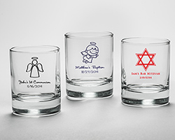 Personalized Shot Glass/ Votive Holder - Religious
