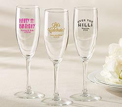 Personalized Champagne Flute – Religious