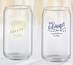Personalized 16 oz. Beer Can Glass - Party Time