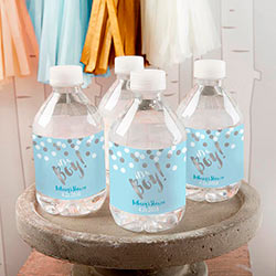 Personalized Water Bottle Labels - Its a Boy!