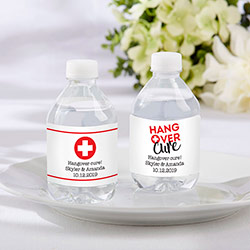Personalized Water Bottle Labels - Hangover