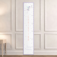 Personalized Fairy Princess Growth Chart