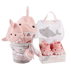 Shark Baby Gift Set - Girl